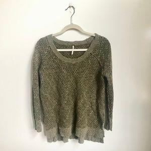 Free People | Chunky Wool Sweater